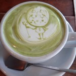 Cafe 5040 Ocha-Nova - ホワイト抹茶(550円)