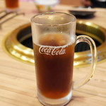 一升びん 松寿亭 - 黒ウーロン茶