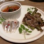 イタリアンバルパステル - 前菜3種盛り