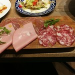 イタリアンバルパステル - シャルキトリー3種盛り合わせ