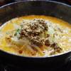 申手延麺 - 料理写真:手延べ担々麺
