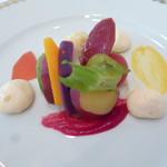 ル・マルカッサン ドール - 鎌倉野菜と金沢の甘海老と北海道の帆立のしんじょ