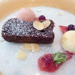 ル・マルカッサン ドール - ベルギー産のチョコレートを使ったガトーショコラ