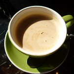 狸穴 Cafe - ホットのカフェラテ