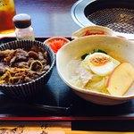 94824400 - ミニ冷麺とミニ丼のセット
