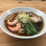 麺や一歩一歩 - 料理写真:瑞浪    海のロマンの醤油らーめん
