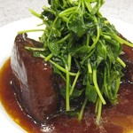 94825853 - 豚バラ肉の黒酢煮込み