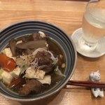 旬菜 すがや - 料理写真:牛すじ煮込み