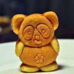 桜木亭 - 可愛いパンダ焼き(アップ)