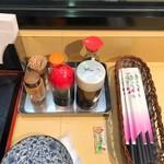 丸惣 - カスターセット