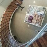 六花亭 - 螺旋階段