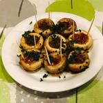 スペイン食堂 石井 - マッシュルームのソテー
