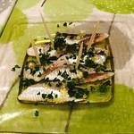 スペイン食堂 石井 - イワシの酢漬け