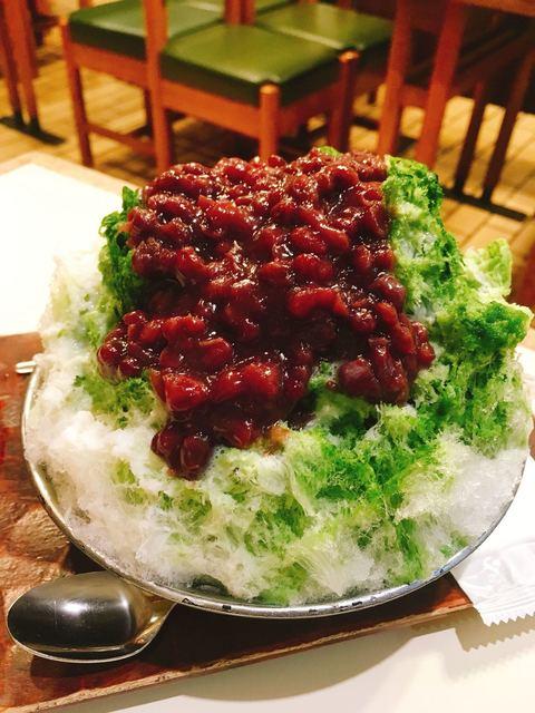 だるまや餅菓子店 - かき氷 ミルク宇治金時  1180円