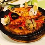 スペイン食堂 石井 - 魚貝のパエリア