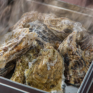 ささのや名物!絶品牡蠣のガンガン焼きをご用意!