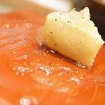 大衆天ぷらtoかすそば風土.はなれ - カマンベール天