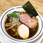 手打式超多加水麺 ののくら - 中華そば/醤油(750円)