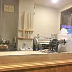 手打式超多加水麺 ののくら - 店内の製麺所