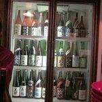 酒盃 - 日本酒がいっぱい