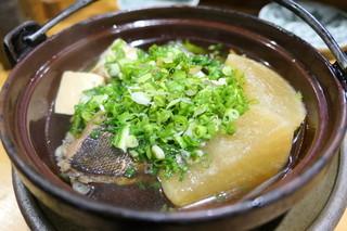 黒尊 - イサキと大根煮物
