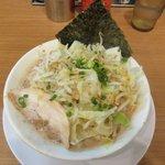 九州釜焚きとんこつ ばってんラーメン - 料理写真:野菜盛りラーメン2018.10.04