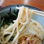 上田うどん店 - 細目のうどん、しなやかな食感、存在感有ります!