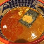 三田製麺所 - 料理写真:ラー油たっぷり辛つけ麺
