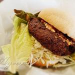 cafe That's Bock Ring - 料理写真:ハンバーガー(綾ごぼうの豆腐ハンバーグ)