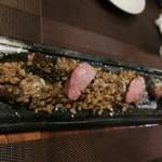 浅草 幻のあぐー豚専門肉バル グロワ グロワ - 絶品ほほ肉
