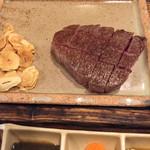 ステーキハウス 吉池 - ヒレステーキ 170g 特製味噌ダレ