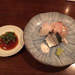 94843648 - 真鯛 縞鯵 〆秋刀魚