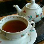 ひじかた園 - 茶色の小瓶(ほうじ茶+レモングラス)