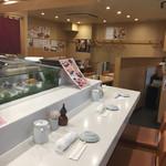 新橋しのだ寿司 - 店内