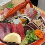 スタンドふじ - 魚盛り