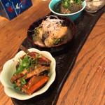 酒町ちゅうじろう - おばん菜盛り 420円