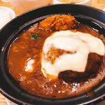 東京粉餃子 - フォアグラハンバーグ 850円