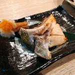日本酒処 庵治都 - 鰤のカマ焼き
