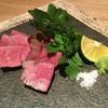 心米 - 料理写真:熊本あか牛 甲誠牛 旨味の濃さが素晴らしいです