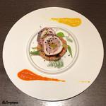 Yui - スルメイカ ファルシとトマト風味のクスクス