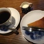 眞踏珈琲店 - コーヒー、ベイクドチーズケーキ