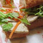バインミー☆サンドイッチ - サイゴンのハム&パテ 内部