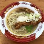 らーめんstyle JUNK STORY - 料理写真:「~地鶏とハマグリの極上出汁~ 煌めきの塩そば」850円(大つけ麺博2018)