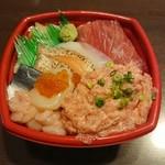 汐音丼丸 - うみ丸丼・特盛