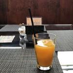 エピドルージュ - オレンジジュースをいただきました(2018.10.19)