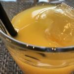 エピドルージュ - 甘いアップルパイと甘酸っぱいオレンジジュースがよく合います(2018.10.19)