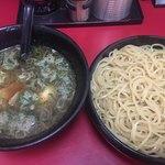 大吾郎商店 - 醤油つけ麺 (´∀`)/ 2タマ