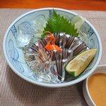 さつま味 - 料理写真:きびなご刺身