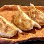翼餃子 - 料理写真:セットのハーフ餃子