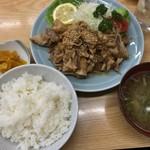 葛西橋 - しょうが焼き定食(780円)